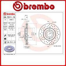 09.7011.1X#297 DISCO FRENO ANTERIORE SPORTIVO BREMBO XTRA VW BORA (1J2) 1.9 TDI