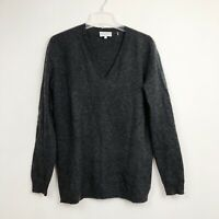 White + Warren Essentials 100% Cashmere Sweater Pullover V-Neck Womens Medium