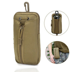 Molle Water Bottle Holder Carrier Pouch Bag Waist Pack Outdoor Hiking Camping