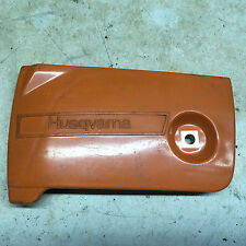 new Husqvarna 501570901 side cover,clutch bar clamp 44, 444 chainsaw