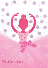 Tutu Much Fun Ballerina Ballet Party Dance Recital Birthday Favor Loot Bags 8 ct