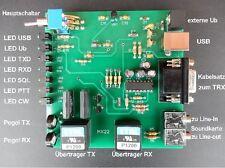 USB Sound und Cat Interface MX22 für digitale Betriebsarten