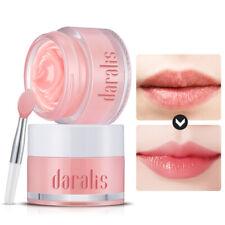 Strawberry Extract Lip Mask Scrub Moisturizing Repair Chapped Cracked+Brush Gift