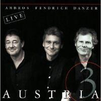 FENDRICH/AMBROS/DANZER - AUSTRIA 3  CD 16 TRACKS DEUTSCHPOP/SCHLAGER NEU