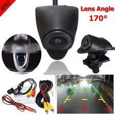 Truck Front View CCD Camera Waterproof 170° Wide Degree Logo Embedded For Toyota