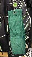 *CLEARANCE SALE* Recoil Golf Retractable TriFold Green Golf Towel Accessory
