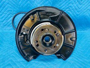 Mercedes S430 RWD Rear Knuckle Spindle w/ Hub & Shield & Hose RH 2000-2006 OEM