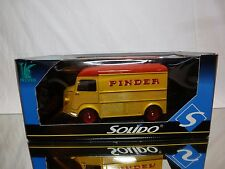 SOLIDO CITROEN TYPE HY VAN - CIRCUS PINDER  - YELLOW  1:21? - NEAR MINT IN BOX