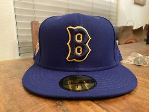 Hat Club Boston Red Sox Bees 1936 All Star Game New Era Fitted Hat 7 3/4 GreenUV