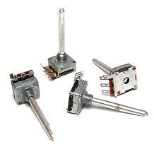 4x Preh 225 Potentiometer, 47 kOhm linear, kleine Bauform, lange 4 mm Achse