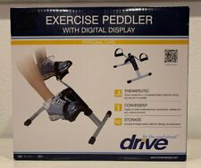 DRIVE Medical Exercise Peddler with Digital Display Therapeutic Fitness Health