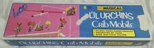 1976 L'IL URCHINS MUSICAL CRIB MOBILE WOOD BASED HAND DECORATED NON-TOXIC COLORS