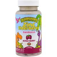 KAL - Zinc Elderberry ActivMelt, Mixed Berries , 90 Micro Tablets