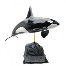 Kaiyoukoubou Killer Whale orca Real Figure Fish Carving From Japan F/S