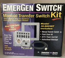 Emergen Switch Manual Transfer Switch Kit 6 5001kit Never Used
