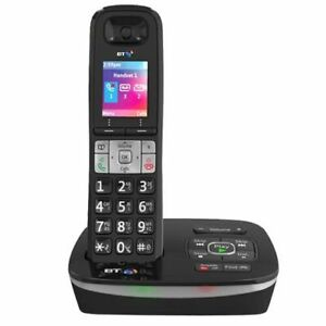 BT 8600 Single DECT Digital Cordless Home Phone with Advanced Call Blocker Black