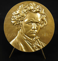 Medal Ludwig Van Beethoven Music Composer German Music Composer Medal