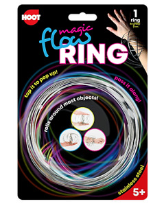 Fidget Spinning Flow Ring Toys Magic Kinetic Spring Infinity Arm Slinky Juggle