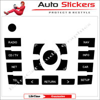 Audi A8 Stickers Decals Control Module Button MMI for Repair Worn Knob Switch v1