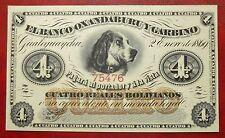 Argentine - 4 Reales Bolivianos - 2 janvier 1869 - Non émis