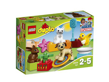 Lego Duplo Family Pets Building Set Includes Dog Cat Rabbit And Birds 10838 NEW