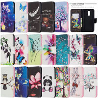 For Nokia 2.2 3.2 4.2 1 Plus 2019 Painted Wallet Flip Leather Phone TPU Cover