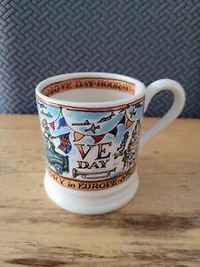 EMMA BRIDGEWATER VE Day 75 Years Half Pint Mug 0.5 1/2
