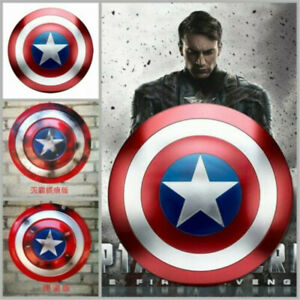 Avengers Captain America Metal Replica Shield Bar Home Decoration Cosplay Prop