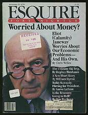 William STYRON / Esquire November 21 1978 Volume 90 No 11 First Edition
