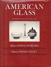 AMERICAN GLASS: BLOWN & MOLDED, PRESSED & CUT antique vases sugar bowls kentucky