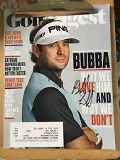 Bubba Watson PGA Golf Star Signed Autograph Golf Digest Magazine