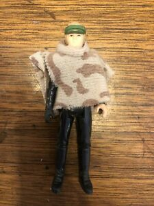 Vintage Star Wars Figure LAST 17 Luke Skywalker Poncho POTF