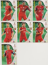 Panini Adrenalyn XL World Cup Russia 2018 Lot 7 cartes équipe PORTUGAL