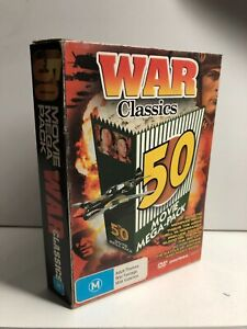 50 Mega Movie Pack - War Classics See Pics - AusPost with Tracking