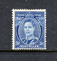 1940 - 3d BRIGHT BLUE - KGVI (DIE III)  - MINT