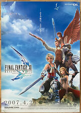 Final Fantasy Revenant Wings RARE NDS 51.5 cm x 73 cm Japanese Promo Poster #2