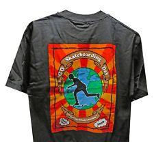 Gsf Go Skateboarding Day 2009 Steve Caballero T-Shirt Black Men's Size M