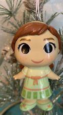 "Custom ANNA FROZEN 2 Christmas Holiday 2.5"" Ornament DISNEY OOAK Upcycled"