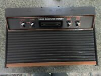 ATARI 2600 4 SWITCH VIDEO GAME WORKING CONSOLE | Cleaned and tested