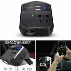 Dc 12-24v To 220 V Car Converter Power Inverter Usb Fast Charging Socket Adapter