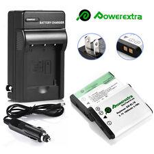 2Pcs EN-EL19 Battery+ Charger for Nikon Coolpix S33 S32 S7000 S3600 S3700 S3700