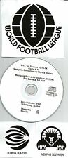 Original WFL Radio Broadcast on CD - Memphis Southmen vs Florida Blazers - 1974