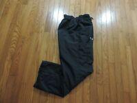 "Under Armour~Lined Sweatpants~Black~Men's Size MD Length 29"""