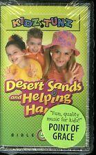 Kidz Tunz Desert Sands And Helping Hands Bible Songs 5 Cassette Point Of Grace