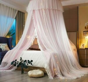 Round Mosquito Net For Bed Canopy Kid Bedding Baby Curtain Room Decorations Nets