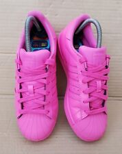 ADIDAS SUPERSTAR PHARRELL WILLIAMS SUPERCOLORS TRAINERS IN SIZE 5.5 UK PINK