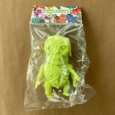 Splurrt Putrid Green Walking Cadaver Blank Sofubi Designer Art Toy Kaiju Mvh