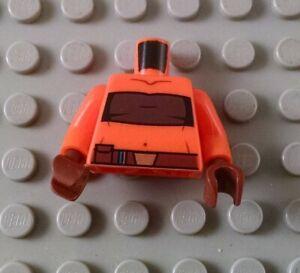 LEGO Orange Star Wars Ahsoka Minifigure Torso Body Part