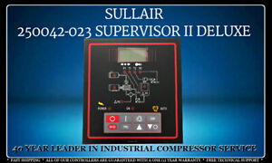 250042-023 SULLAIR SUPERVISOR II DELUXE CONTROLLER WITH 1 YEAR WARRANTY