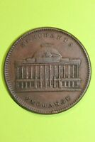 1837 Hard Times Token Merchants Exchange Stock Wall Street New York  OCE 036